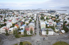Reykjavik, IJsland Royalty-vrije Stock Foto's