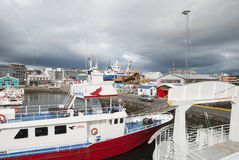 Reykjavik, Islândia Foto de Stock Royalty Free