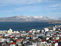 Reykjavik/Island lizenzfreie stockfotografie