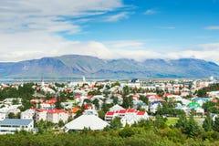 Reykjavik, Island lizenzfreies stockfoto