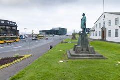 Reykjavik Island Arkivbild