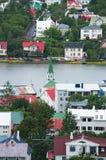 Reykjavik Island, Nordeuropa Arkivfoto