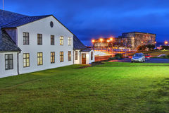 Reykjavik, Islanda Fotografie Stock Libere da Diritti