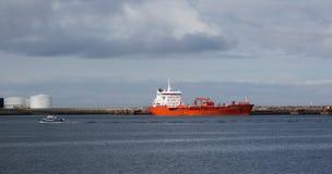 REYKJAVIK, ISLANDE 25 JUILLET : Vieux port 25, 2013 à Reykjavik, IC image stock