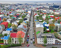 Reykjavik, Islandia Fotografía de archivo