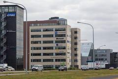 REYKJAVIK, ISLANDIA 4 DE AGOSTO: Calles 4, 2013 de la ciudad en Reykjavik, Imagen de archivo