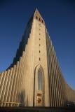 Reykjavik Kathedraal stock foto