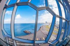 Reykjavik kustlijn Royalty-vrije Stock Fotografie