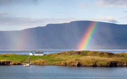 Reykjavik Landscape Stock Photography
