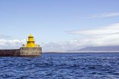 Reykjavik-Leuchtturm Lizenzfreie Stockfotos