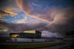 Reykjavik Opera House Royalty Free Stock Photos