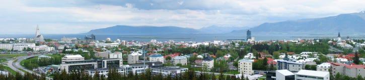 Reykjavik-Panorama lizenzfreie stockfotografie