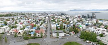 Reykjavik panorama Stock Photography