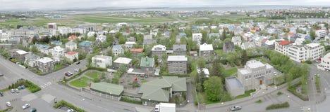 Reykjavik panorama Stock Image