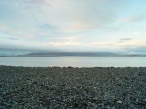 Reykjavik plaża Obrazy Stock