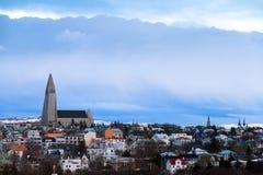 Reykjavik Skyline Stock Images