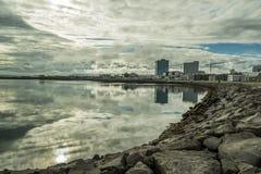Reykjavik-Sommer lizenzfreies stockfoto