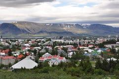 Reykjavik Stad Stock Foto's