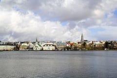 Reykjavik-Stadtbild Stockfoto