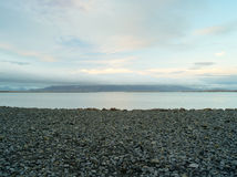 Reykjavik strand Arkivbilder