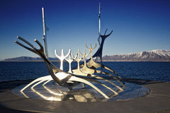 Reykjavik - Sun voyager Royalty Free Stock Photography