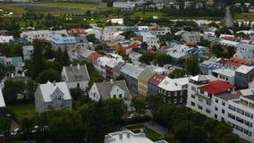Reykjavik ulicy Obrazy Stock