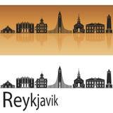 Reykjavik V2 skyline Royalty Free Stock Photography
