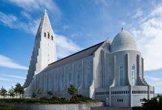 Reykjaviks Hallgrimskirkja Stock Photography