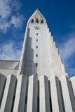 Reykjaviks Hallgrimskirkja Fotografia de Stock