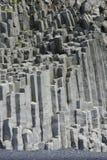 Reynisdrangar rock formation in Vik i Myrdal Royalty Free Stock Image