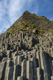 Reynisfjara Beach Basalt Coloumn Formations, South Iceland Royalty Free Stock Image