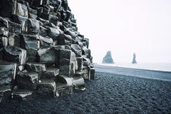 Reynisfjara Beach, southern Iceland Royalty Free Stock Images