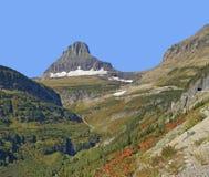 Reynolds góra, lodowa park narodowy Fotografia Royalty Free