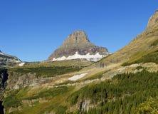 Reynolds Mountain, Glacier National Park Fotografia Stock Libera da Diritti