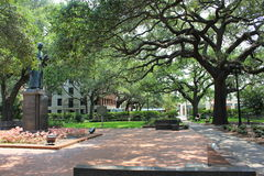 Reynolds Square Savannah GA Stockfotografie