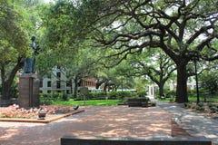 Reynolds Square Savannah GUMMIN Arkivbild