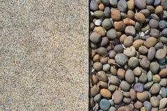 Rez-de-chaussée de ciment et de roche images stock