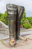 Reza Shah great legs Stock Photos