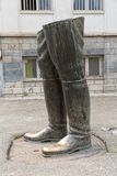 Reza Shah unfinished statue Royalty Free Stock Photography