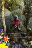 Rezando a Buda, Japão Fotografia de Stock Royalty Free