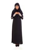 Rezar árabe da mulher fotografia de stock