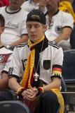 Rezar alemão do fã fotografia de stock