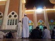 Rezar islâmico em Tailândia Fotografia de Stock
