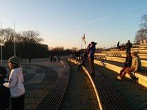 Rezekne, φεστιβάλ-πάρκο Στοκ εικόνα με δικαίωμα ελεύθερης χρήσης