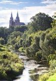 Rezekne hjärta av den Jesus domkyrkan, Lettland. Royaltyfria Foton