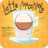 Rezept für Kaffee Lizenzfreie Stockfotos