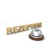 Rezeption Images stock