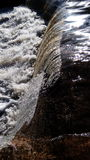 Rezerwat przyrody siklawa Obrazy Stock