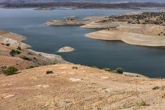 Rezerwat wodny, hydroelektrycznej władzy tama Obraz Royalty Free