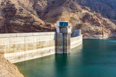 Rezerwat wodny w Oman Obrazy Royalty Free